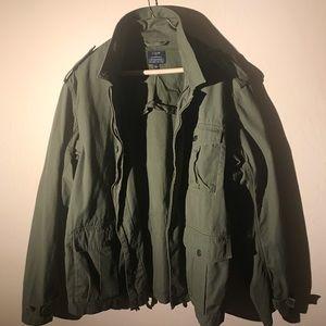 J.Crew Men's Military Style Jacket - Size Large